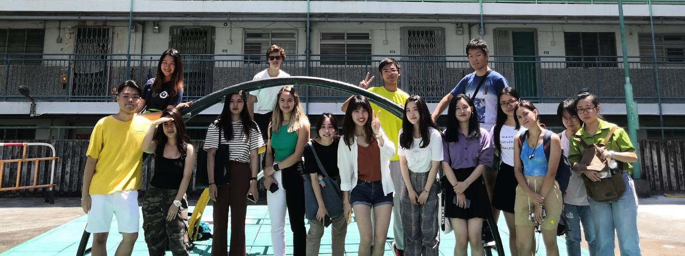 非本地生香港攝影及廣東話學習活動