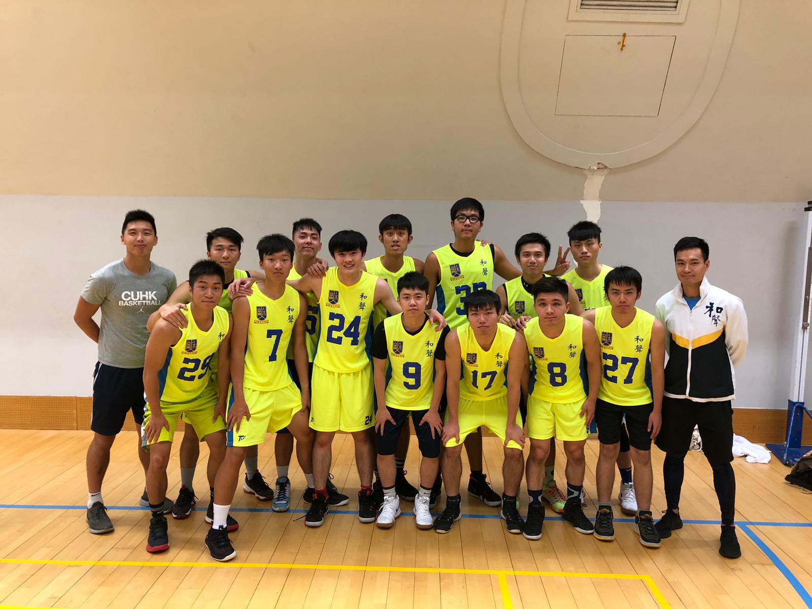 男子籃球隊 Men Basketball Team