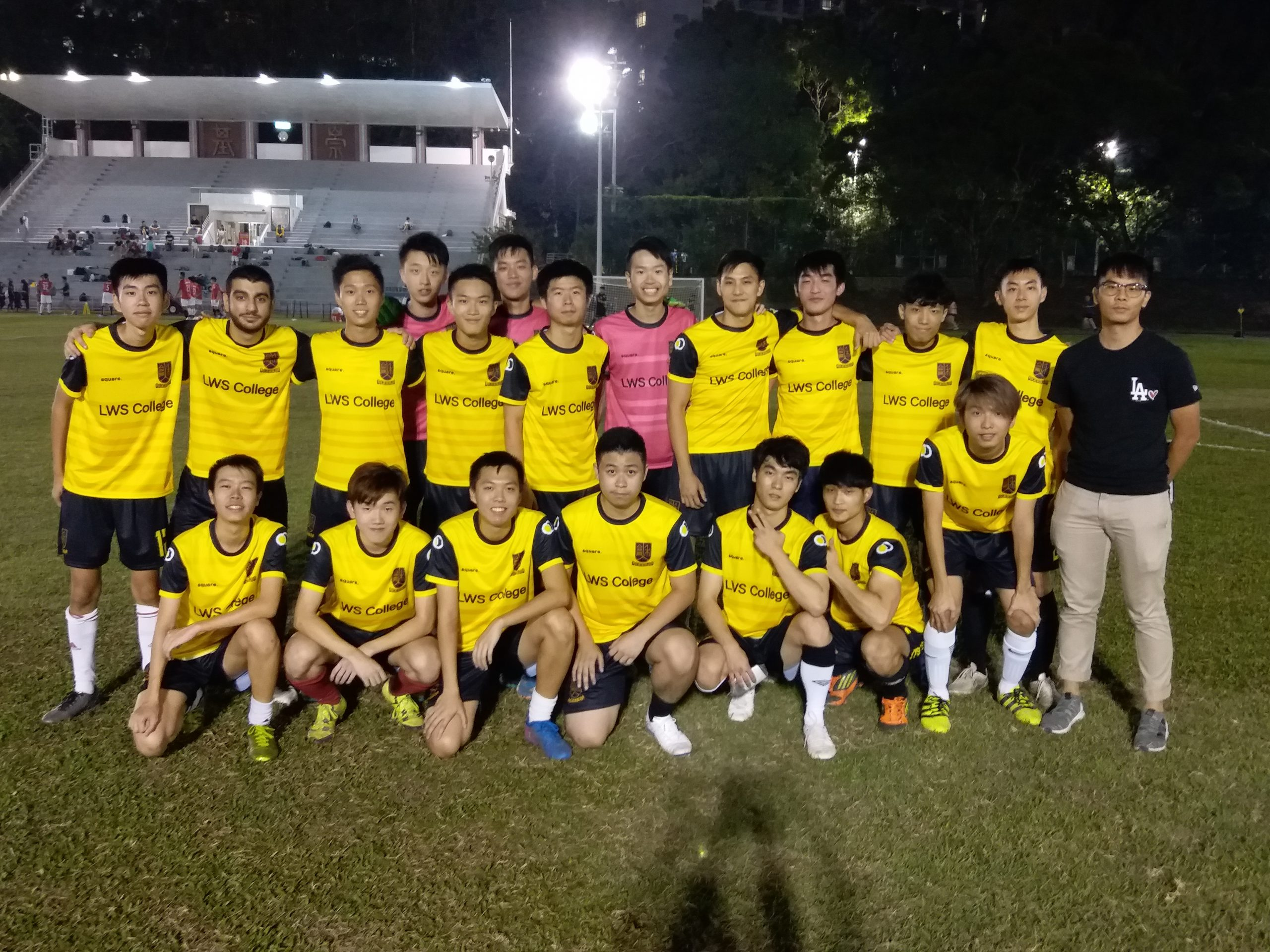 男子足球隊 Men Soccer Team