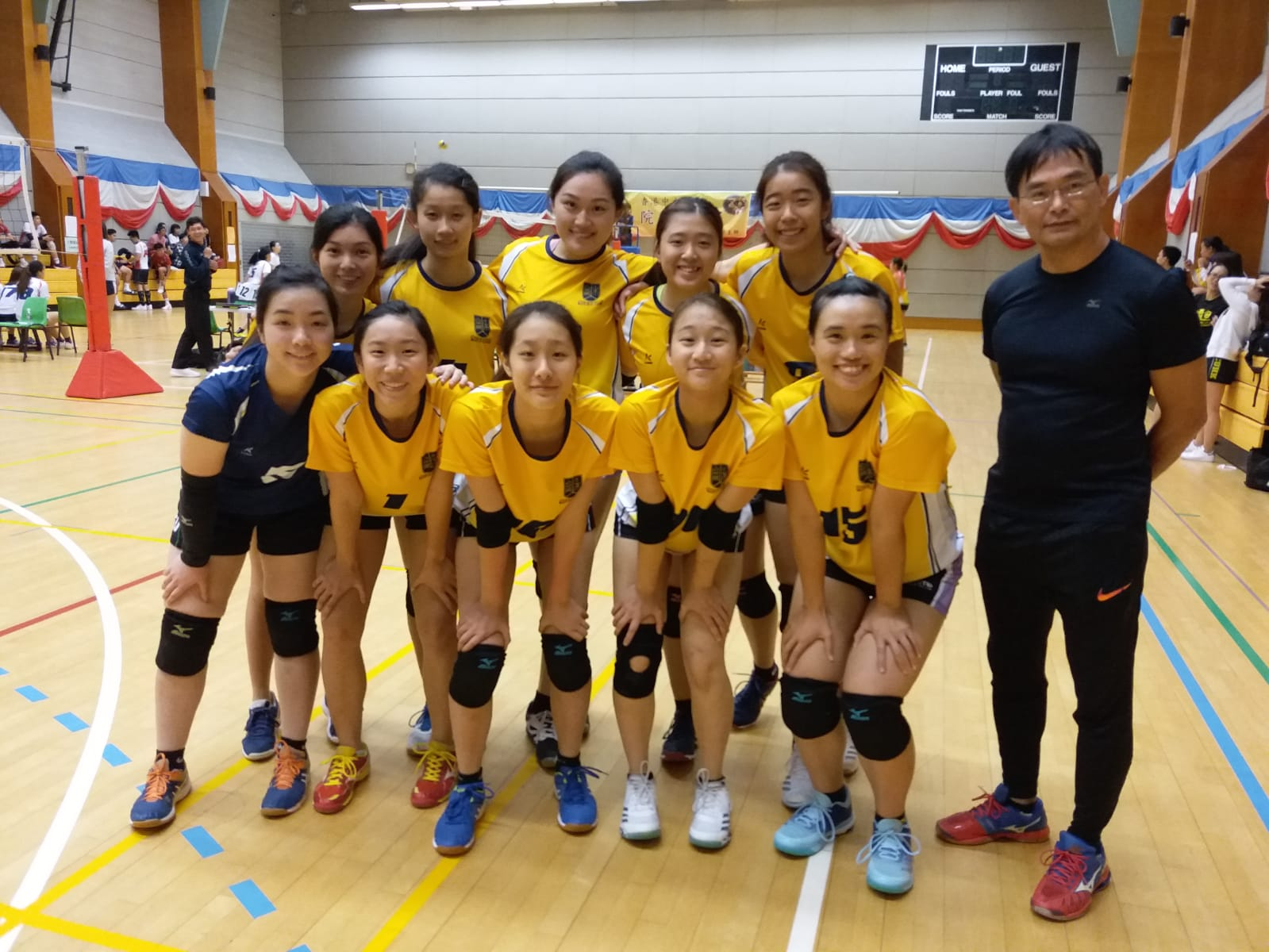 女子排球隊 Women Volleyball Team